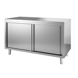 Meuble bas neutre central - 1400x700x850/900 mm