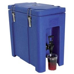 Conteneur QC20 gris/bleu avec robinet de 19L - 295x465x460mm
