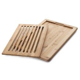 Planche à pain bambou 43x30x2 cm