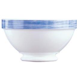 Bol à talon 51 cl - 13,2 cm - Gamme Brush bleu