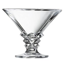 Coupe à glace Palmier - verre transparent - 21 cl