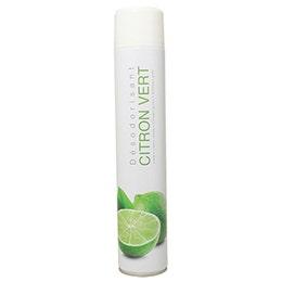Aerosol desodorisant citron vert