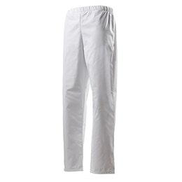 Pantalon Goyave mixte - blanc - T0 - polyester et coton