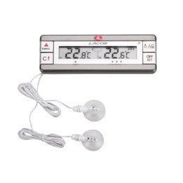 Thermomètre digital frigo congélateur double sonde