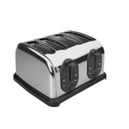Grille-pain automatique 4 tranches