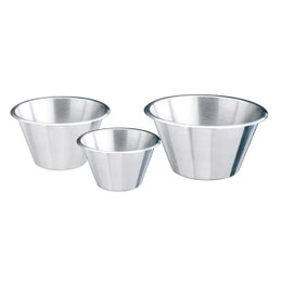 Bassine conique en inox - 2,12 L