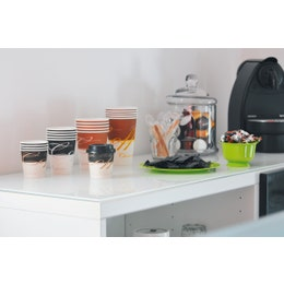 Gobelet en carton jetable - gamme Coffee Choc - 10 cl