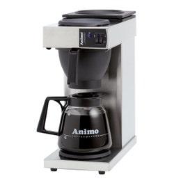 Machine à café Excelso inox - verseuse 1,8L - 190x370x433 mm
