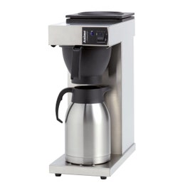 Machine à café Excelso inox - thermos 2L - 190x370x477 mm