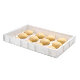 Caisse à pâton blanche - 9L