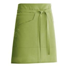 Tablier mixte Nell 45 vert amande - 65% polyester, 35% coton