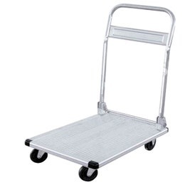 Chariot aluminium - Jusqu'à 150 kg - 760x480x910 mm