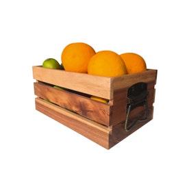 Caisse de présentation en acacia - 200x300x140 mm