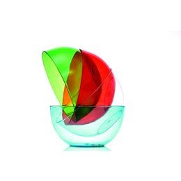 Saladier Cristal en copolyester transparent de 80cl - diam 150mm
