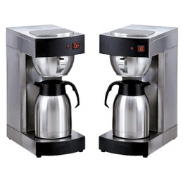 Machine à café - Thermos inox - 2 L - 360x195x460 mm