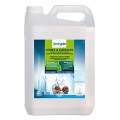 Enzypin vitres - Détergent pour vitres et surfaces - Bidon 5L