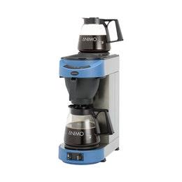 Machine à cafe verseuse m100 - bleu