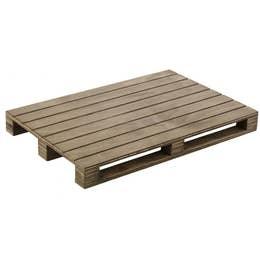 Planche de service - mini palette - bois - 30x20x3cm