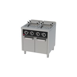 Cuiseur à pâtes electrique 25l+25l serie 750 sur placard