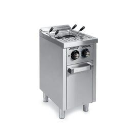 Cuiseur à pâtes à gaz 25l serie 600 sur placard  - CPG25L600E