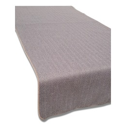 Set de table - Aspect laine - 33 x 43 cm - Chevron gris