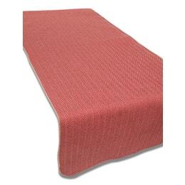 Set de table - Aspect laine - 33 x 43 cm - Chevron rouge