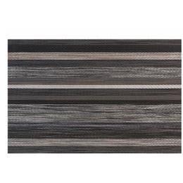 Set de table vynil tissé - 45x30cm - Lignes marron