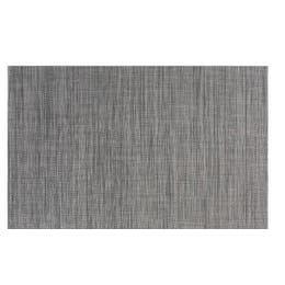Set de table vynil tissé - 45x30cm - Marron/noir