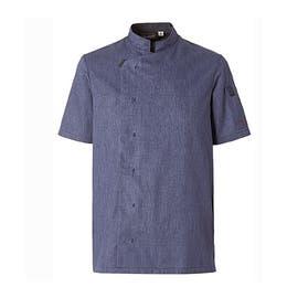 Veste homme Shade bleu denim - Manches courtes - Taille 2