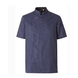 Veste homme Shade bleu denim - Manches courtes - Taille 0