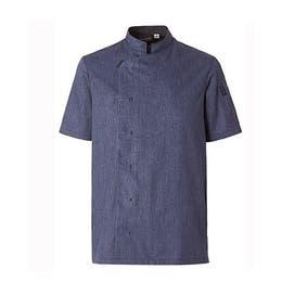 Veste homme Shade bleu denim - Manches courtes - Taille 4