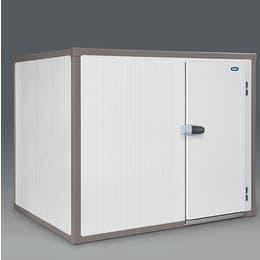 Chambre froide Universal négative - Epaisseur 100 mm - Soupape de décompression et chevrons - Int : 1200x1600x2000mm - Ext : 1400x1800x2200mm