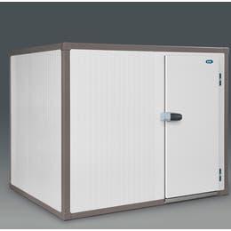 Chambre froide Universal négative - Epaisseur 100 mm - Soupape de décompression et chevrons - Int : 2000x2000x2000mm - Ext : 2200x2200x2200mm