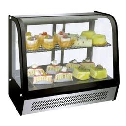 Vitrine réfrigérée - Froid ventilé - 0°C-12°C - 160 L