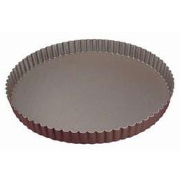 Tourtière cannelée - Fond fixe - Diamètre 32cm