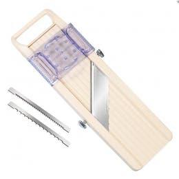 Mandoline japonaise - Petit modèle 32x9 cm - Ép. coupe 65mm