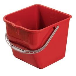 Seau de lavage - 15litres - Rouge