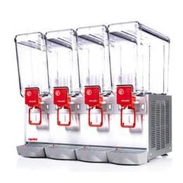 Distributeur de boissons froides 4 x 12 L - DELUXE12/4