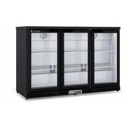 Arrière-bar positif H.850 - 3 portes vitrées battantes - ERH-350-L