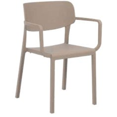 Fauteuil gamme Mose - taupe