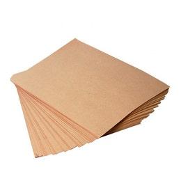 Papier burger kraft brun parrafiné neutre 33x40cm