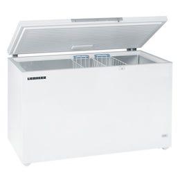 Conservateur coffre blanc - avec couvercle - 482L - GTL 4905