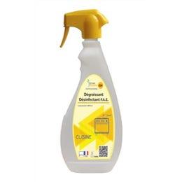 Dégraissant désinfectant alimentaire - Pulvérisateur 750 ml
