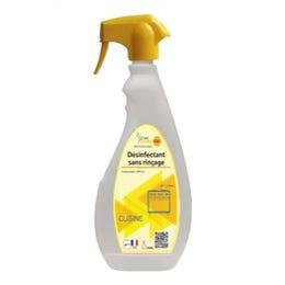 Désinfectant sans rinçage - pulvérisateur 750 ml