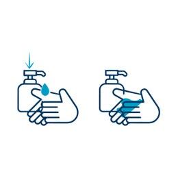 Gel pour l'hygiène des mains - 500 ml