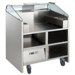Comptoir mobile Easy Cooking pour 2 modules mono 230V