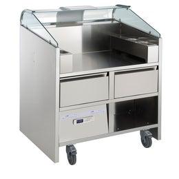 Comptoir mobile Easy Cooking - 2 tiroirs réfrigérés