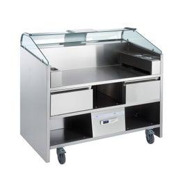 Comptoir mobile Easy Cooking 2 tiroirs réfrigérés