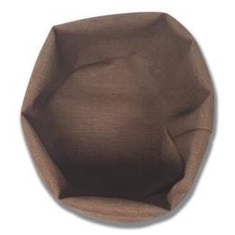 Paniere ronde - Diamètre 25 cm - Taupe