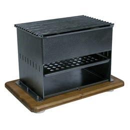 Combiné reblochade braséro - A charbon de bois